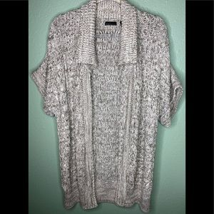 Moda Cable Knit Cardigan Sweater Thick Size Small
